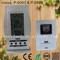 large LCD display multifunctional wireless weather station