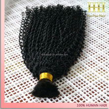 Full cuticle unprocessed indian virgin 100% human hair bulk