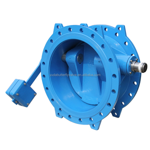 Ductile iron rubber sealing tilting disc check valve