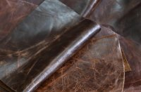 Wax leather furniture leather