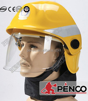 2015 hot selling! cheapest yellow fireman helmet/ fire fighting helmet/ safety helmet