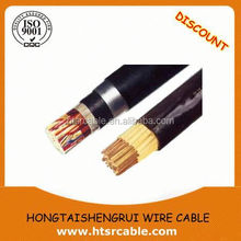 Copper tape or Copper Braid shield/HFCO Cable F-CVV-SB Cable 0.6/1kv F-CVV-SB 2C-2mm2 For Control Circuits in underground
