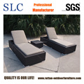 Hot Selling Double Rattan Sun Lounge (SC-FT0128)