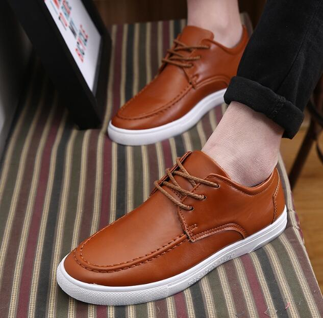 zm33268a casual pu leather dress shoes fancy stylish men flat shoes