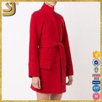 OEM factory price latest coat styles for woman, uv-protective coat, trench fur coat