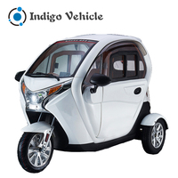 Factory cheap electric trike motorcycle 3 wheel passenger tricycle taxi for sale