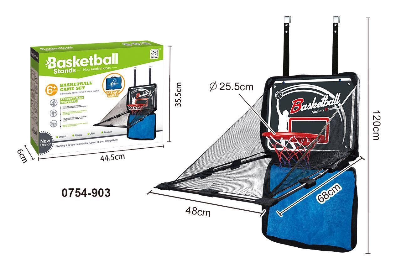 New Health Indoor Sport Toys Kids Basketball Goal Set For kids Playing