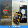 Fashion Design Colorful Waterproof BT Smart Watch Android Dual Sim with Pedometer Function Best Wrist Watch Cell Phone