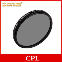 Zomei factory sale camera filter CPL filter 62mm