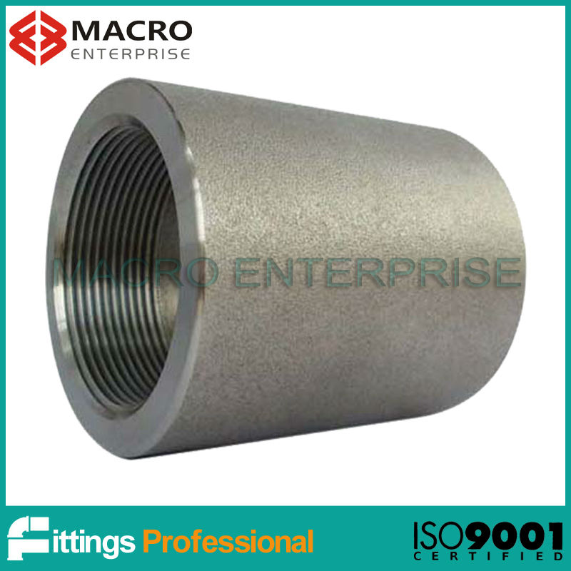 high pressure 6000LBS forged fittings threaded socket/coupling/coupler