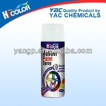 rubber paint spray for car wheel and car dody