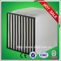 Industry self supported multi bag pocket air filter, industrial filter
