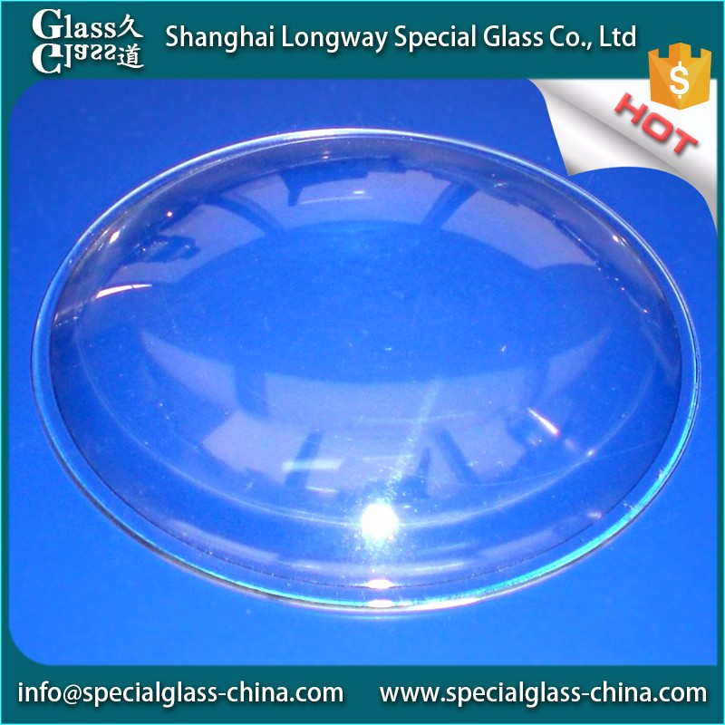 China manufacturers Laminated glass fitting water custom magnifying