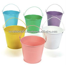 Colorful Steel Sanitary Buckets