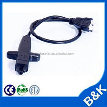 Fiji uk 3 pin male to iec 320 c7 power cable