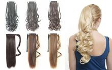 Hot selling synthetic ponytail hair with low price