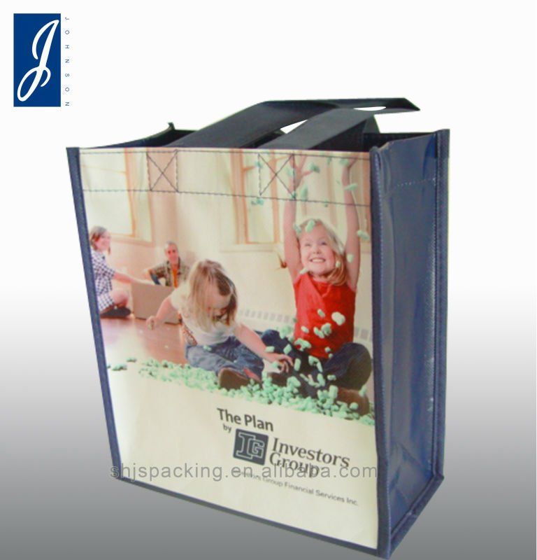 pp non-woven shopping bag for promotion