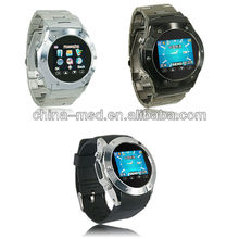 Watch Quad Band 2013 new phone watch+ Watch Phone Cell Phone with Touch Screen/Bluetooth/Webcam