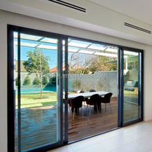 New Designed low-e triple glass sliding door with customized colors