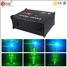 ILDA Control DMX 5000MW Single Green Laserman Show Dancing Floor Lazer Light