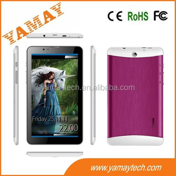 touch screen 7 inch MTK tablet pc with 0.3+2.0 MP two camera