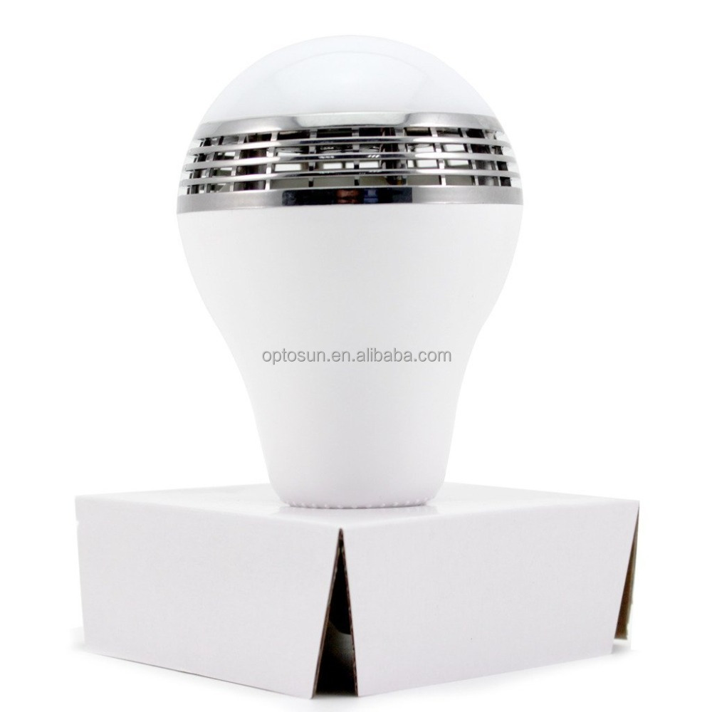 New Smart LED Light <strong>Bulb</strong> with IOS and Android System Music Bluetooth Speaker Player RGB White <strong>Bulb</strong> Lamp Audio
