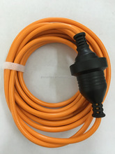 For Best price high quality SAA approve three pin extension cord with female plug