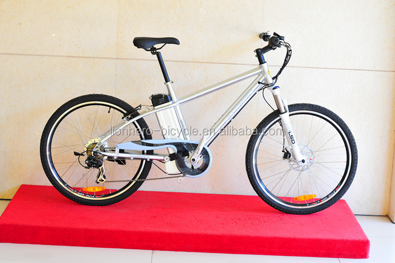 2015 Cheap Padel Assistant 26 inch Mens Step Through Electric Bicycle