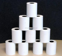 "2-1/4"" x 85' PoS THERMAL RECEIPT PAPER 1PART - 72 NEW ROLLS ** FREE SAMPLE **"