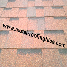 Dual layer Laminated bitumen roofing tiles