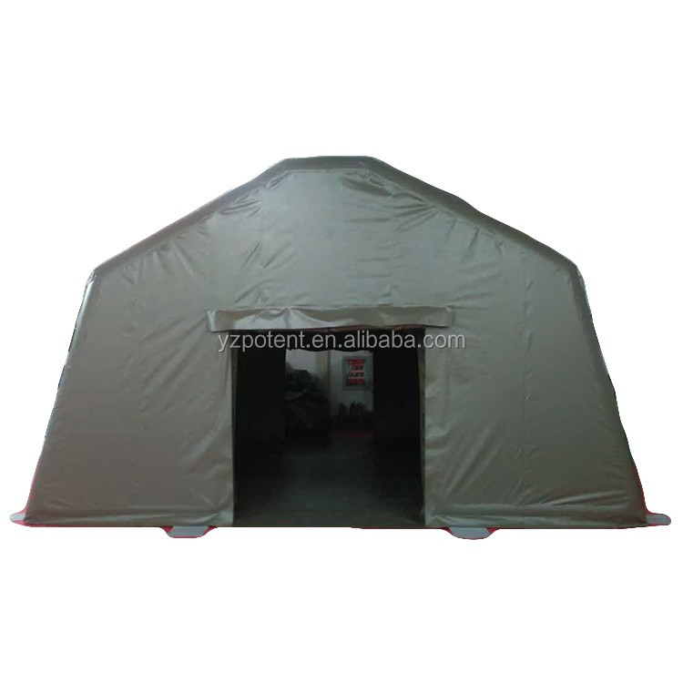 42 sq.m Customized PVC Oxford military inflatable camping tent