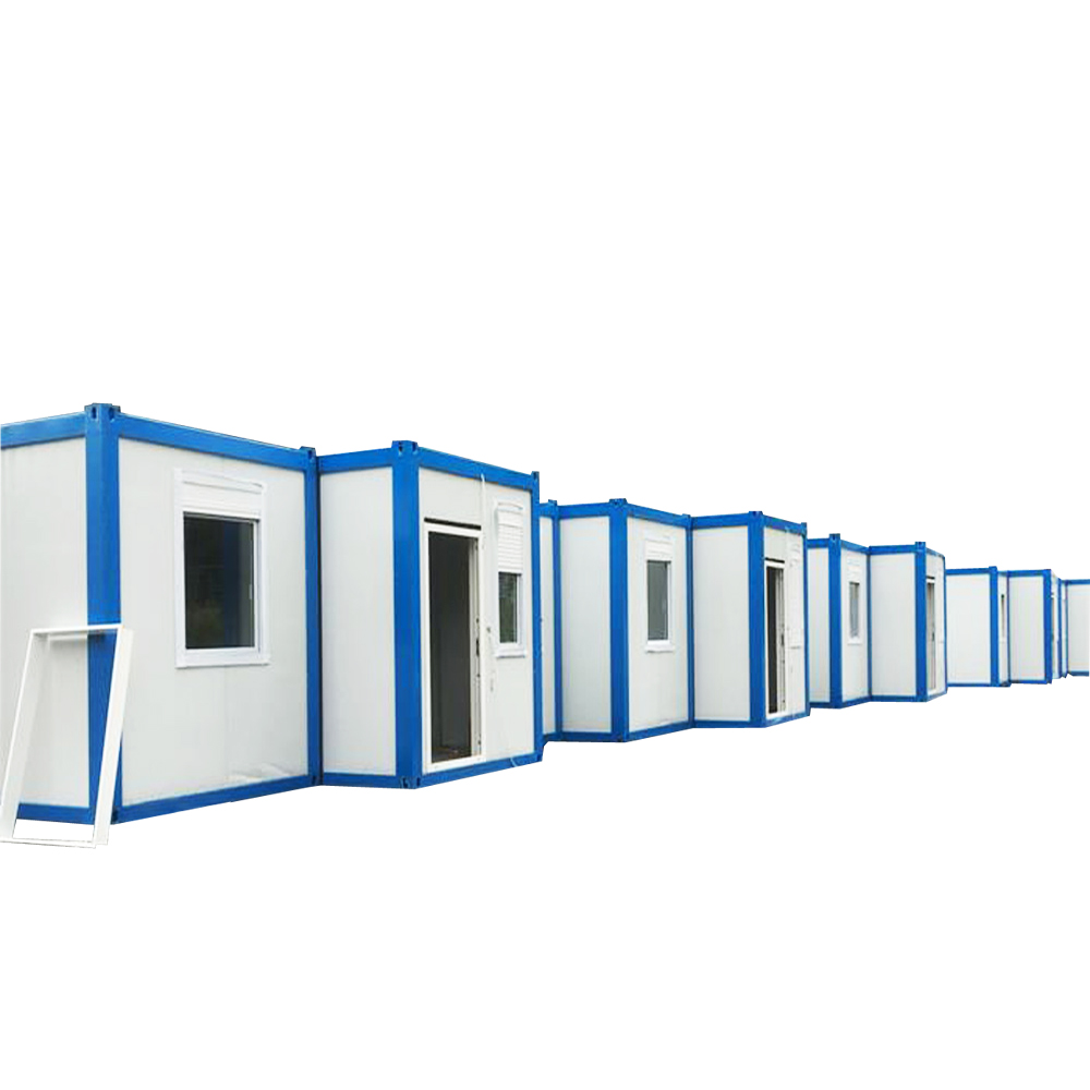 cheap prebuilt prefab container house 40 ft in china for sale