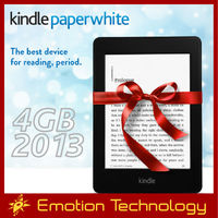 Amazon All-New Kindle Paperwhite WiFi+3G 3G 4GB 2013 without ads Brand New e-reader Wholesales Electronic Books reader Kindle