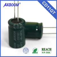 low leakage current low impedance 4.7uf 8*12 250v Aluminum Electrolytic Capacitor