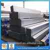 Hot selling 2.5mm pre galvanized square pipe with low price