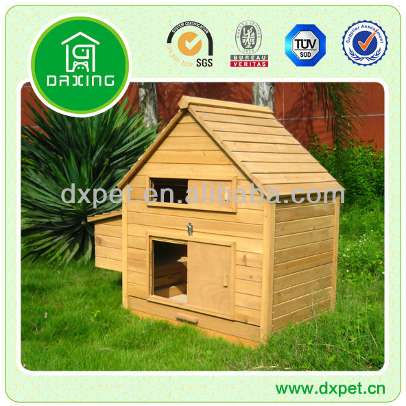 Large Chicken Coop with Nest Box