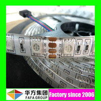 smd 5050 rgb baterry powered led strip light dimmable led strip light with high cri90 strip
