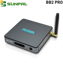 Android 6.0 Marshmallow DDR4 3GB 16GB EMMC Flash Amlogic S912 TV Box Mecool BB2 Pro DDR4 TV Box