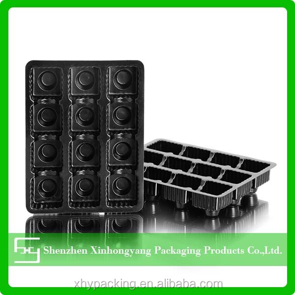 Good Style Cheap samples home party stocked plastic tray ps chocolate food tray