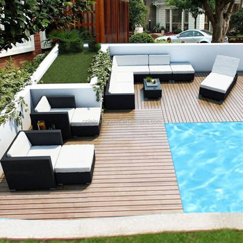 Stars hotel rattan outdoor furniture sofa