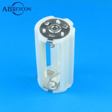 AA battery holder AA Battery Storage Case Plastic Box Holder for 2 x AA 1.5V Battery Soldering Connecting Black Wholesal
