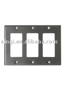 METALLIC OUTLET BOXS COVERS