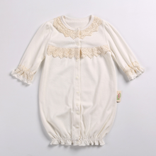 PHB13564 baby outwear lace design lovely cotton romper