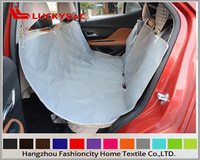 Folding Dog Bed Waterproof PVC Coating Pet Car Seat Cover