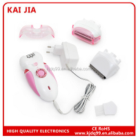 2016 good sale with led light electric epilator hair remover epilator electric hair clipper women epilator