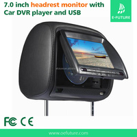 Suoer Universal 7 Inch Car Video Player Car Headrest Monitor With DVD