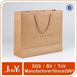 new gift flat packaging advertising Kraft paper bag