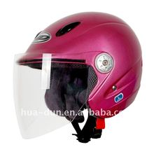 ABS and PC single visor low price open face helmet safety helmet