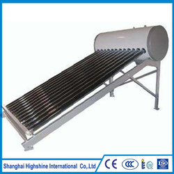New fashionable stylish High Quality Compact Pressure Solar Water Heter Customized Low Rooftop Home Using Heater