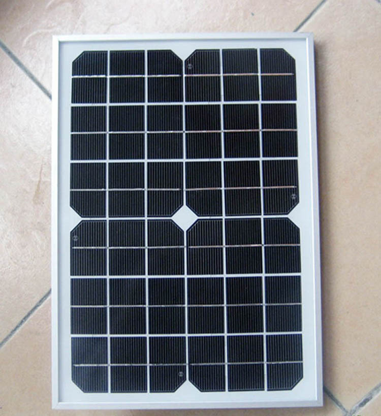 10w Solar Panel Kit Home Battery Camping Carava&solar charger&solar panel for 12V battery charging Polycrystalline Silicon